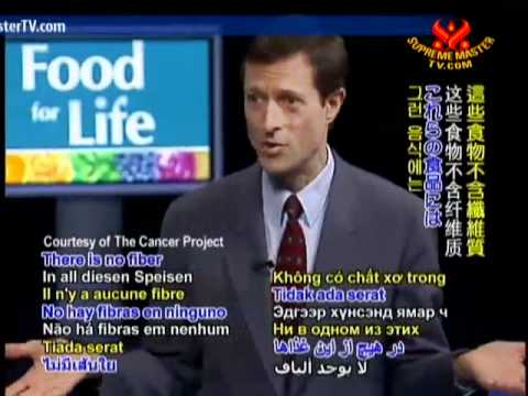 Dr. Neal Barnard: Eating Right for Cancer Survival – P1/8