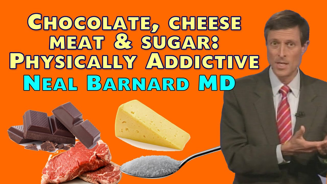 Chocolate, Cheese, Meat, and Sugar — Physically Addictive