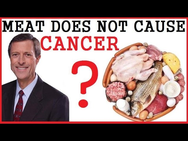 """""""Sorry Vegans Meat Does Not Cause Cancer"""" ? Dr Neal Barnard"""